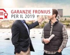 Fronius: Promo Garanzia 10 anni attiva nel Webshop