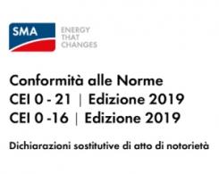 SMA: aggiornamento alla norma CEI Edizione 2019
