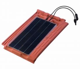 Tegola in cotto fotovoltaico