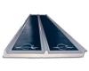 Modulo fotovoltaico Uni-Solar 144WpX2 AMORFO su PC