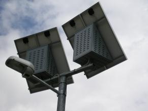 Lampioni fotovoltaici a Rabbi (TN)